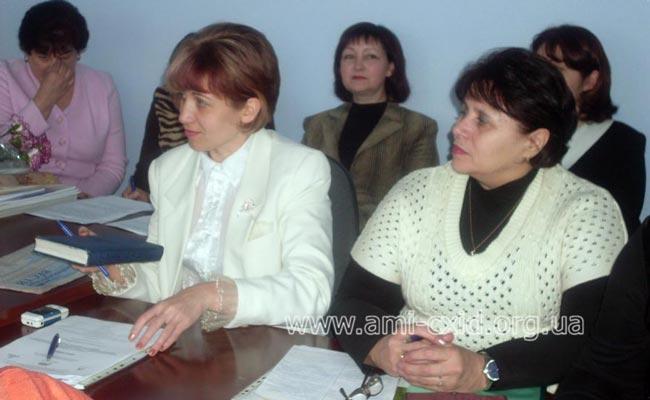 Заседание круглого стола по вопросам реализации права людей с инвалидностью на доступность образования г. Славяносербск