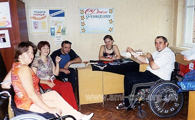 Посещение мест трудоустройства Территориальный центр социальной помощи Жовтневого района г. Луганска