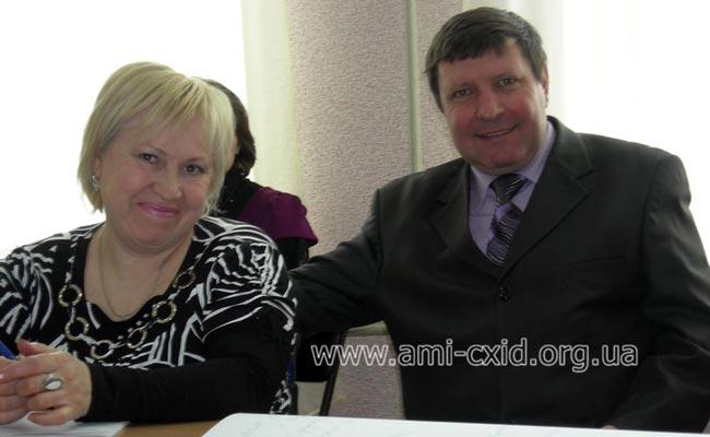 Доповідь Манько Володимир Григорович – начальник відділу зовнішніх та внутрішніх зв'язків Всеукраїнського центру професійної реабілітації інвалідів