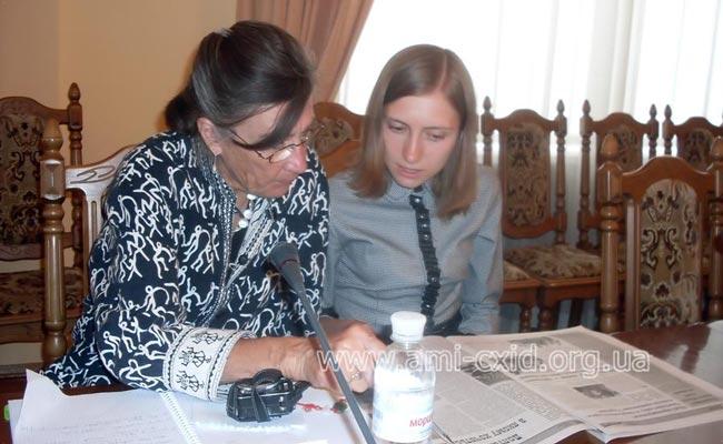Доклад представителя Корпуса Мира Керолайн Макензи на заседании Координационного совета