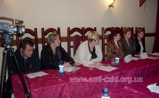 Заседание круглого стола г. Петровское Луганской области