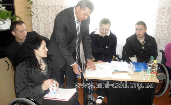 Доступність освіти для людей з обмеженними фізичними можливостями  на Буковині.