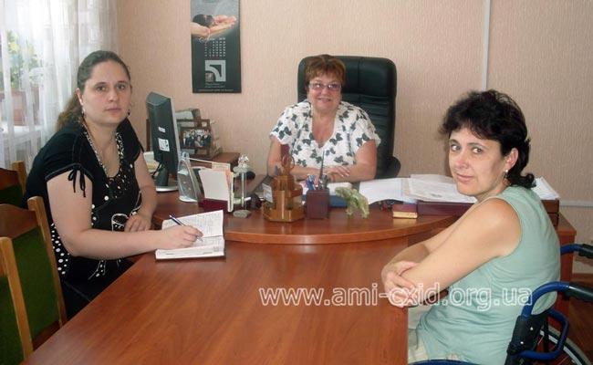 Встреча с директором Луганской областной универсальной научной библиотеки имени Максима Горького
